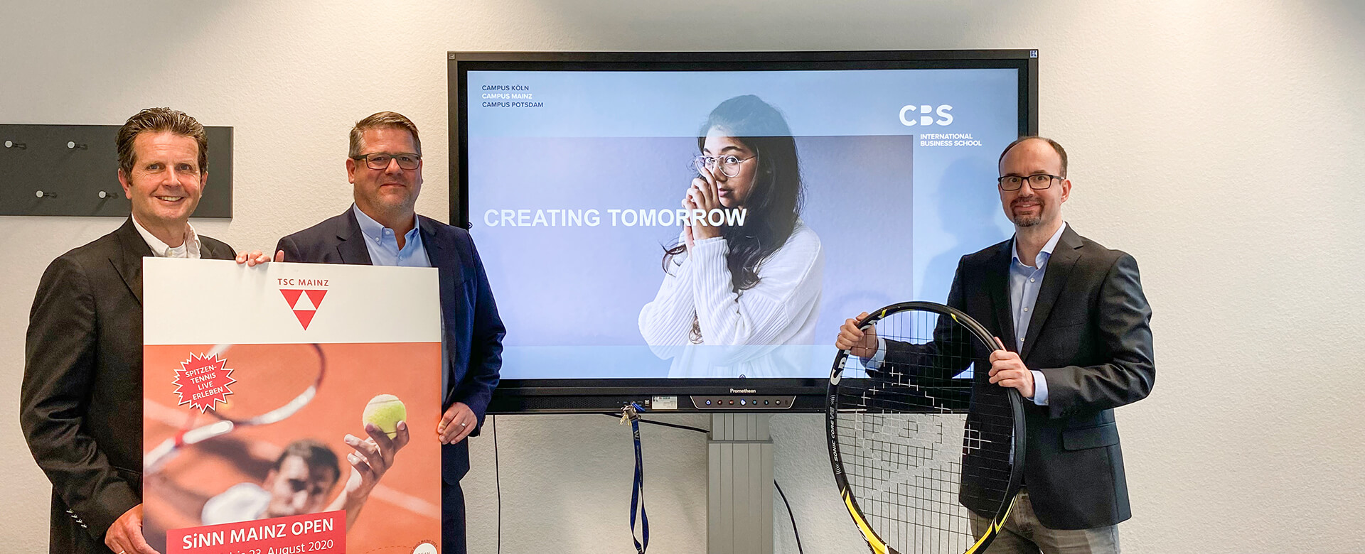 Tennis-Sportstipendium an der CBS in Mainz